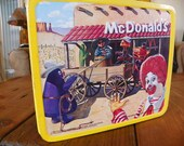 Mc Donald's lunch box 1982