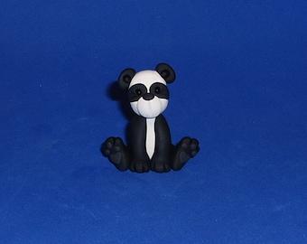 Polymer Clay Panda Bear