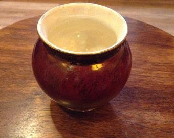 Jar Rouge Royal Vase Vintage Carlton Ware f13/2308 3968