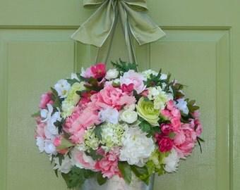 Spring Wreath - Door Wreath - Door Wreath - Door Decor