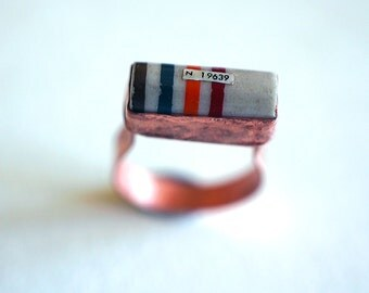 Steampunk Resistor Ring
