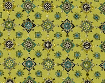 29017 Free Spirit Denyse Schmidt Ansonia - Medallion in Mossy  color PWDS060 -  1 yard