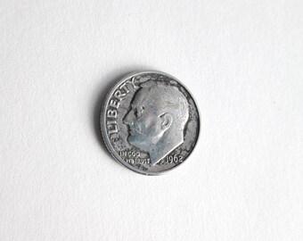 1962 D US Silver Dime 02