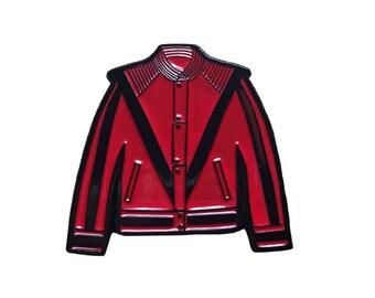 Michael Jackson Thriller Jacket enamel pin
