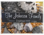 Custom Family Name & Est. Year Personalized Wood Sign