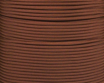 Chocolate Brown 550 Paracord Cord  X 100ft bundle