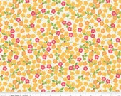 Floribella - Floral Yellow by Emily Taylor from Riley Blake