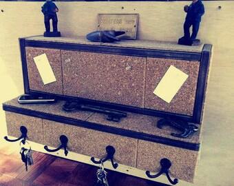 Organizer...Mail & Key Holder...Message Board...Display Shelf...