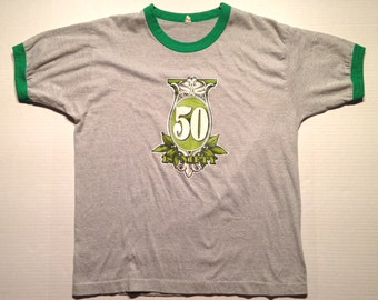 1980's Fifty Is Nifty t-shirt, fits like a large