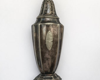 Vintage Silver EP, Stamped GM Co and Anchor Logo from late 1800s or early 1900s Perfume Atomizer Bottle