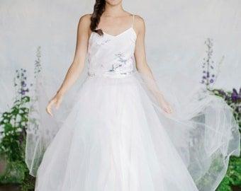 Floral Print Camisole, Bridal cami, Soft floral print, Separates, Bridal separates, Bridal, Floral print, Wedding separates, Silk camisole