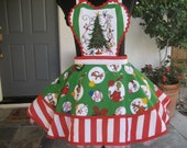 Custom Order for Molly Grinch Christmas Aprons