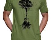 Mens Guitar Tree T-Shirt - American Apparel Tshirt - S M L Xl 2X