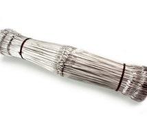 """500 Inserted Eye Heddles 12 1/2"""" Weaving Loom"""