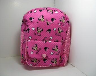 Minnie In Pink Preschool Backpack
