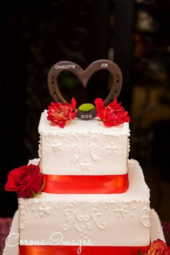 western theme wedding cake toppers western theme wedding cake topper horseshoe by 27022