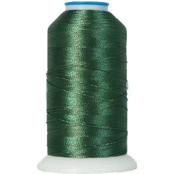 No. 213 (Holly Green) 5000m Polyester Spool of Embroidery Machine Thread