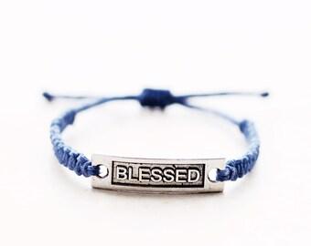 Blessed Bracelet - Hemp Bracelet - Hemp Jewelry