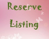 "Reserve listing for ""Curiosa"""