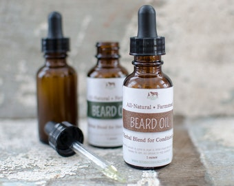 Herbal Beard Oil {Conditioning}