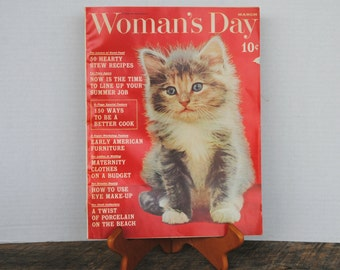 Vintage Woman's Day Magazine March 1961