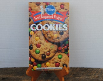 Vintage 1994 Pillsbury Most Requested Cookie Recipes Book