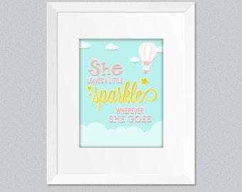 Instant Download Sparkle girls print.