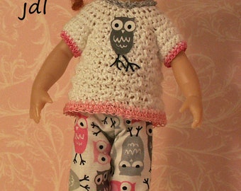 Charmed Owl for Riley Kish by JDL Doll Clothes