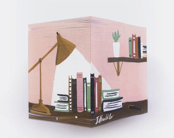 Library Sticky Note Cube (650 pages)
