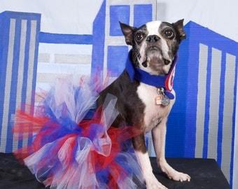 4th Of July Dog Tutu:  RED, WHITE, & BLUE Patriotic Dog Tutu - Small, Medium, or Large