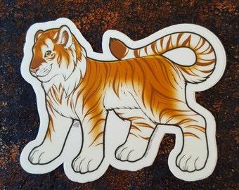 Golden Tiger Sticker