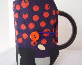 Red Berries French Press Cozie, Christmas Coffee Pot Cozy, Bodum 8 Cup Press Pot Cosy, Hot Pot Sleeve Cozie