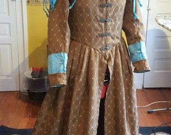 Renaissance coat dress