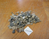 200 Hand Select Very Flat Beach Stones Lake Michigan Stone Craft Mosaic Supplies