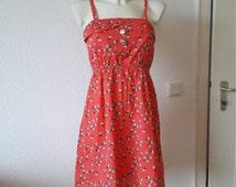 90s Floral daisy babydoll grunge boho dress