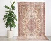 5x9 Hand Knotted Turkish Anadol Wool Rug