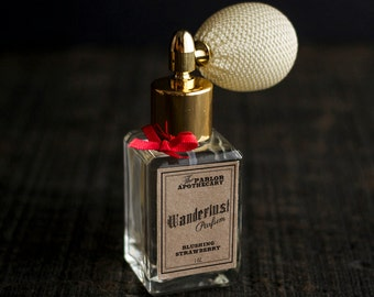 Wanderlust Parfum - Blushing Strawberry - Atomizer Bottle -1 oz