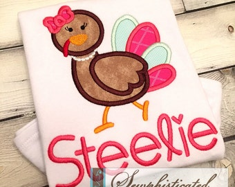 Girl Turkey Shirt - You Customize