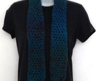 Scarf Blue Crochet Accessory Fashion Winter