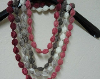 Bubble Scarf Necklace, Woman Accessories