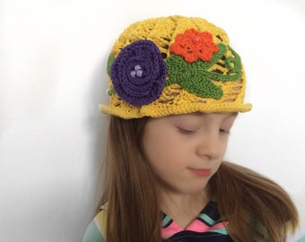 Yellow Spring Hat