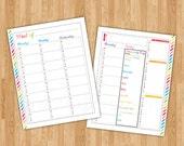 CC Foundations & Essentials/Friday Community Day Printable Traditional BLANK Multi-Subject Homeschool Planner 2016-2017 School Year