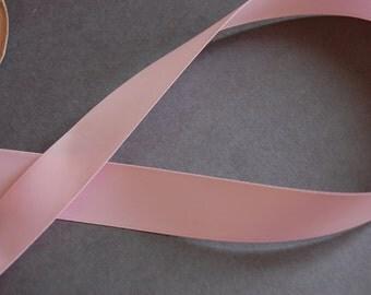 """7/8"""" Lt Pink DF Satin Ribbon"""
