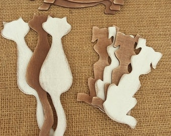 "Bookmarks ""Cat, Dog, Dachshund"""