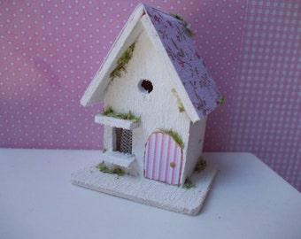 Shabby chic bird house, scale 1.12