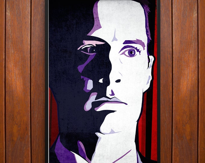 Twin Peaks Poster, Dale Cooper Poster or Framed Print