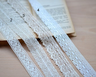 20 meter 2.5-3.2cm wide beige cotton lace trim ribbon L9K1009 F415 free ship