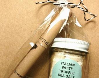 Italian Truffle Sea Salt 1 oz. Glass