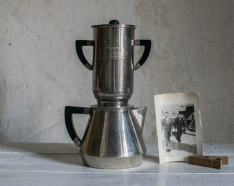 French Coffee Maker // 1930 Pour Over Coffee Pot // Salam France