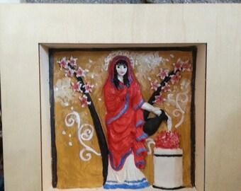 9x9 Hestia wall shrine